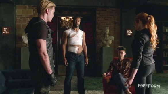 How many Shadowhunters does it take to put in a light bulb? Wait, don't answer that.