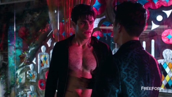 I'm sure Magnus is paying a lot of attention to Alec's heart.