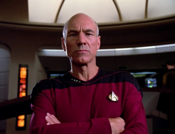 Oh wait, Mr. Clean is on board the Enterprise.